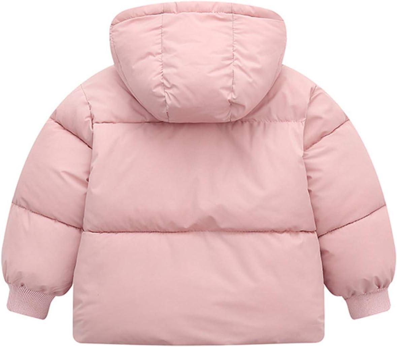 Blu 1-2 anni Bambino Inverno Giacche Cappotto con Cappuccio Ragazzi Ragazze Leggero Giubbotti Caldi Outfits