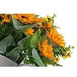 WINOMO-2pcs-Artificial-Flowers-Silk-Sunflower-Bouquet-For-Home-Decoration-Wedding-Decor-Bride-Holding-Flowers