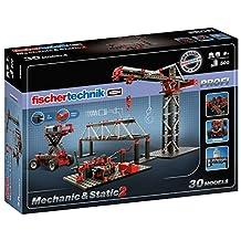 Fischertechnik Mechanic + Static 2 Building Kit (500 Piece) by fischertechnik