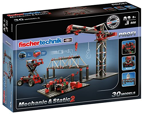 Fischertechnik Mechanic + Static 2 Building Kit (500 Piece)