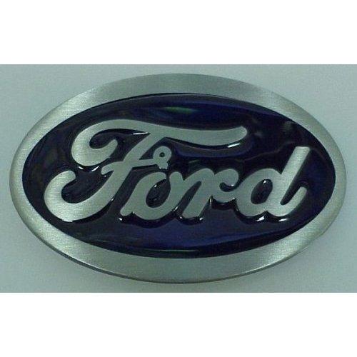Blue Oval Ford Logo Belt Buckle Siskiyou Official