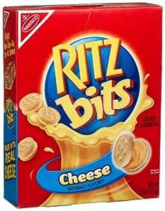 Amazon.com: Ritz Bits Sandwich Crackers, Cheese, 7.5-Ounce