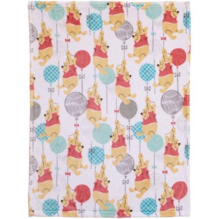 (Disney Pooh Best Friends Plush Blanket)