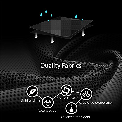 FITVC Cooling Towel Evaporative Fast Cooling Towels Ice Scarf Bandana Neck Cooler For Sports Yoga Gym Fitness