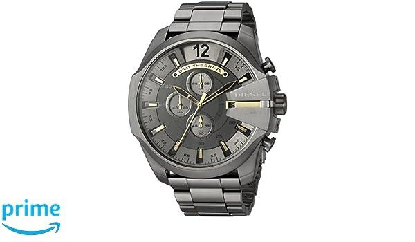 dc7314973 Diesel Men's Quartz Watch, Chronograph Display and Stainless Steel Strap  DZ4466: Amazon.com.au: Fashion