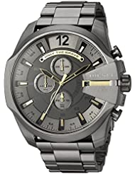 Diesel Mens Mega Chief Gunmetal IP Chronograph Watch DZ4466