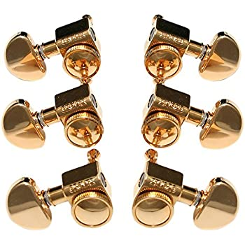 grover roto grip locking rotomatic tuners 3 3 gold musical instruments. Black Bedroom Furniture Sets. Home Design Ideas