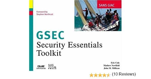 SANS GIAC Certification: Security Essentials Toolkit (GSEC