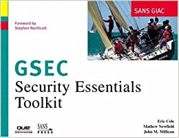 sans giac certification security essentials toolkit gsec pdf
