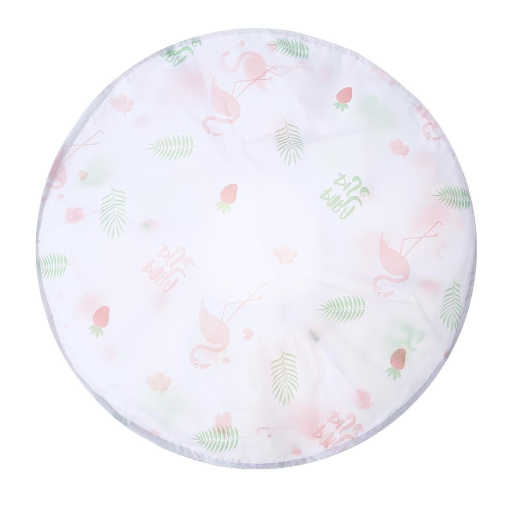 Demiawaking Dustproof Fan Cover Ground Round Electric Fan Dust Cover All Inclusive