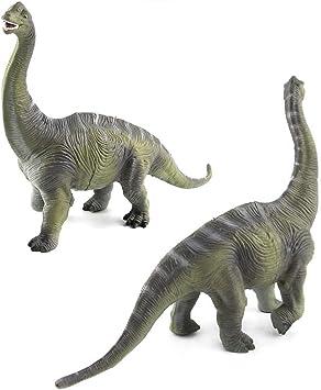 Large Brachiosaurus Brontosaurus Dinosaur Realistic Solid Plastic Model Kid Toy