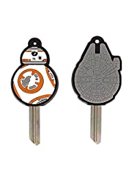 Official Star Wars Episode VII BB8 and Millenium Falcon Key Covers Set - 2 Pack
