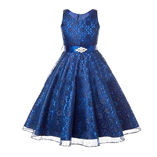 ... Bridesmaid Birthday Party Formal Communion Christening Prom Ball Gown Sleeveless Tulle Dresses For Children Age 3-12 Years: Amazon.co.uk: Clothing