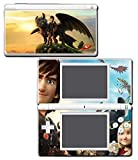 How to Train Your Dragon 2 3 Hiccup Toothless Astrid Video Game Vinyl Decal Skin Sticker Cover for Nintendo DS Lite System