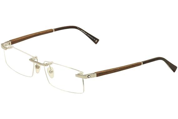 bae18d048e02 Amazon.com  Montblanc MB0390 Eyeglass Frames - Frame 016