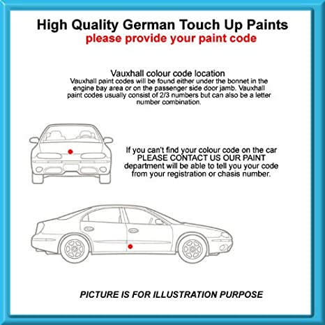 Vauxhall High Quality German Car Touch Up Paint 30ml 3nu Misty