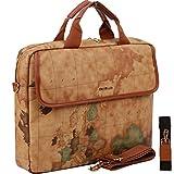Copi World Map Fashion purse Messenger Bag for 15.6 Inch All-Purpose Use Khkai