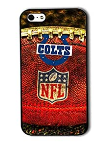 Tomhousomick Custom Design The NFL Team Indianapolis Colts Case Cover For iPhone 5 5S Personality Phone Cases Covers