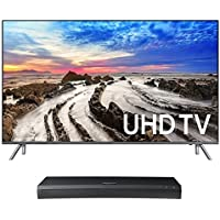 Samsung UN75MU8000 75 4K UHD HDR Smart TV with UBD-M9500 4K Ultra HD Blu-ray Player