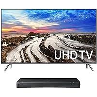 Samsung UN75MU8000 75 4K UHD HDR Smart TV with UBD-M9500 4K Ultra HD Blu-ray Player