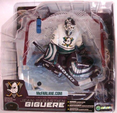 Mcfarlane Nhl Sports Picks - McFarlane NHL Sports Picks Series 7 Jean-Sebastien Giguere White Jersey