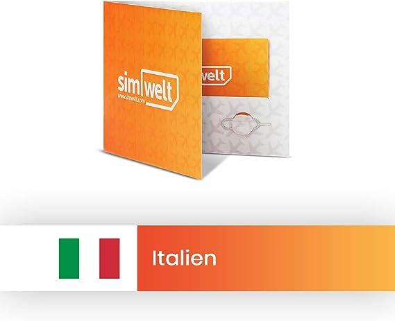 Mapa del mundo SIM con conexión a Internet de Italia.: Amazon.es: Electrónica