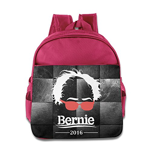 Kids Feel The Bernie Sanders For President Small Backpack (2 Color:Pink (Arthur And Fox Costume)