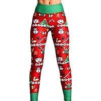 Fengyuanhong Kerstmis Printing Vrouwen Sexy yoga broek Sport broek hoge taille Legging