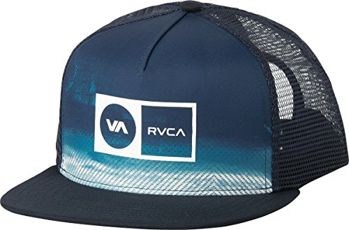 rvca-mens-electro-trucker-hat-ink-blue-one-size