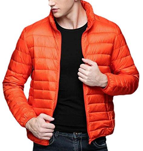 Eku Piumini Leggeri Solido Arancione Moda Mens Xxl qprgq