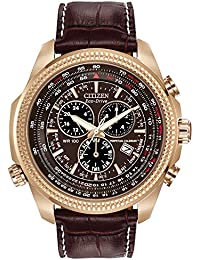 Men's Eco-Drive Chronograph Watch with Perpetual Calendar and Date, BL5403-03X