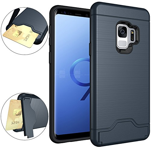 Galaxy S9 Case, OUBA [Card Slot] [Kickstand] Dual...