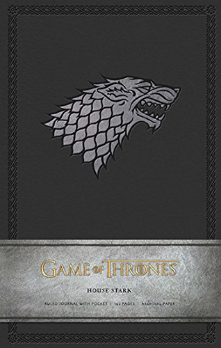 Book cover from Game of Thrones: House Stark Hardcover Ruled Journal (Insights Journals) by HBO