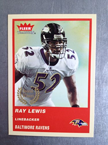 2004 Fleer Tradition Football 328 Ray Lewis NM/M (Near Mint/Mint)