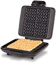 DASH No-Drip Belgian Waffle Maker: Waffle Iron 1200W + Waffle Maker Machine For Waffles, Hash Browns, or Any B