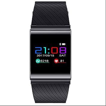 Reloj inteligente Bluetooth Relojes de pulsera de deporte,Rastreador de Ejercicios,Despertador,Sensor