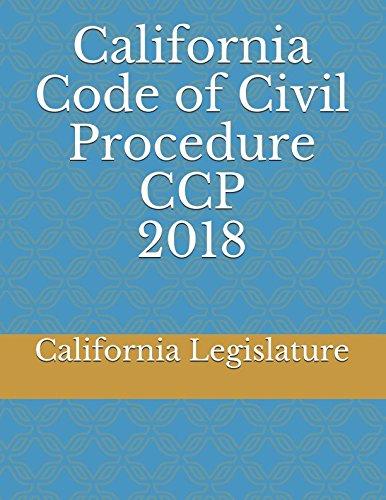 California Code of Civil Procedure CCP 2018