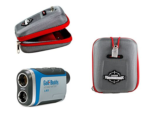 Navitech Pro Eva Hard Case / Rangefinder Cover for the GolfBuddy LR5 Golf Laser Rangefinder