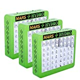 [Pack of 3]MarsHdyro Reflector48 the 102W True Watt Panel LED Grow Light with Veg Flower Switchable Spectrum