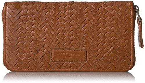Liebeskind Berlin Women's Handwoven Leather Zip Around Wallet Wallet by Liebeskind Berlin