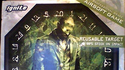 Black Ops Airsoft Gel Target (Soft Air Gel Target)