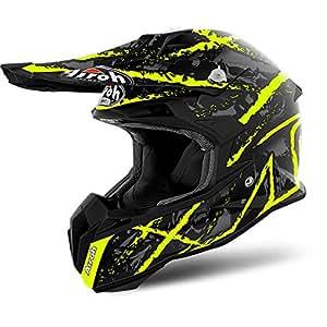 Airoh Terminator Open Vision Carnage Yellow Matt Off Road Racing