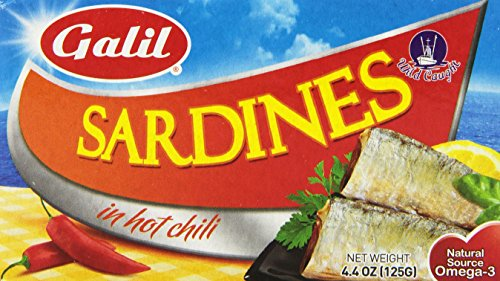 Galil Sardines Chili Sauce Ounce