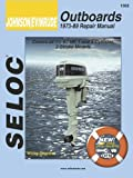 img - for Johnson/Evinrude Outboards 1973-89 Repair Manual book / textbook / text book
