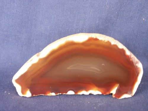 Cut and Polished Solid White Skin Agate and Nodule (Brazil), 12.24.5