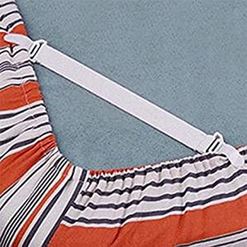 Supports de draps r/églables pour Fixations Pinces Pinces pour Bretelles Sangles Blanc, 2 LNIMIKIY 4pcs Ensemble de Fixations pour draps