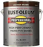 RUST-OLEUM 215967 Voc Leather Paint, Brown
