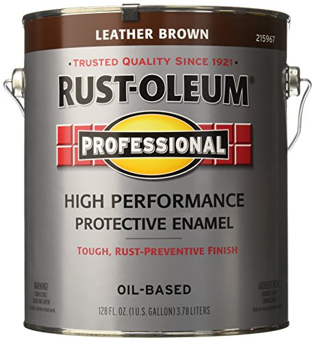 RUST-OLEUM 215967 Voc Leather Paint, Brown