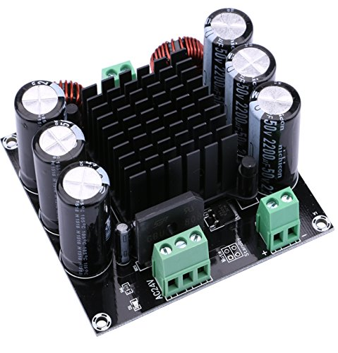Digital Amplifier Board, Yeeco Audio Power Amplifier Module Digital Audio Amp Board Mono Channel 420W Portable Stereo Power Amplifier Stereo DIY Module