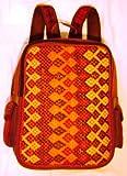 Fine Artistic Handwoven Backpack